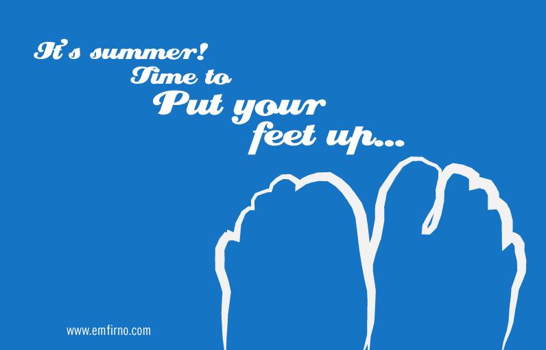 July--feet